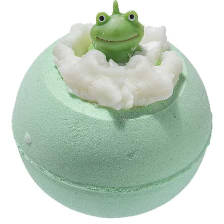 Its Not Easy Being Green Froggy Bath Bomb Kids Bomb Cosmetics