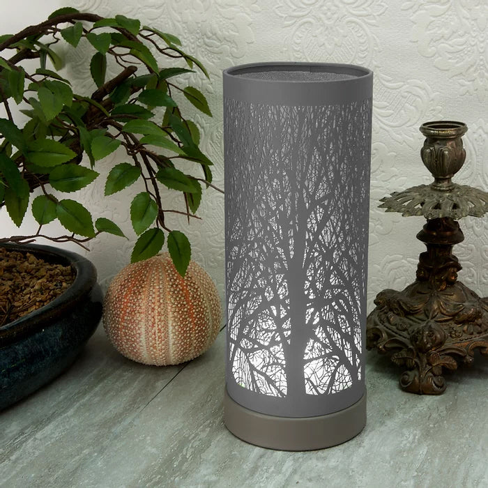 Grey Tree Aroma Touch Lamp Electric Wax Melt Burner Sense Aroma