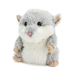 "Warmies® Large 13"" Grey Hamster."