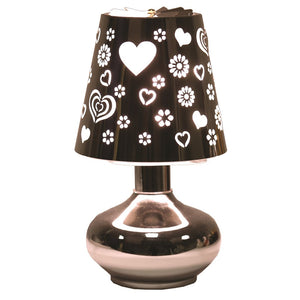 Heart Flowers Carousel Electric Wax Melt Burner
