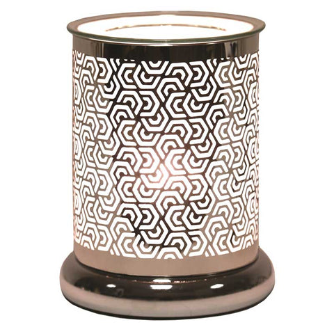 Silhouette Hexagonal Cylinder Electric Wax Melt Burner