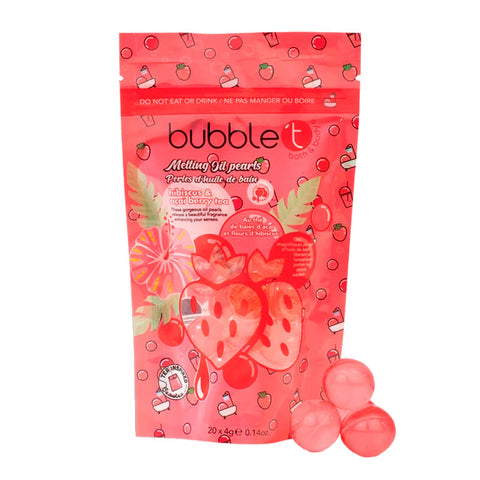 Hibiscus & Acai Bath Pearls Bubble T