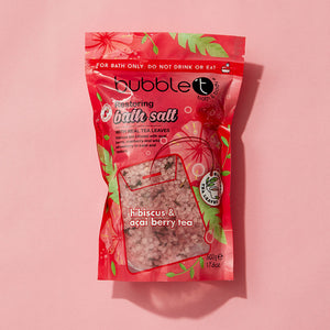 Hibiscus & Acai Bath Salts Bubble T