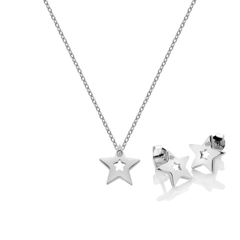 Diamond Amulets Star Set