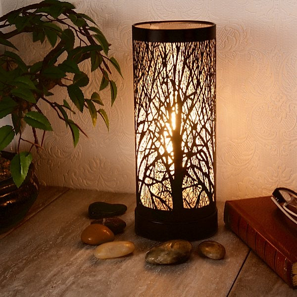 Black Tree Aroma Touch Lamp