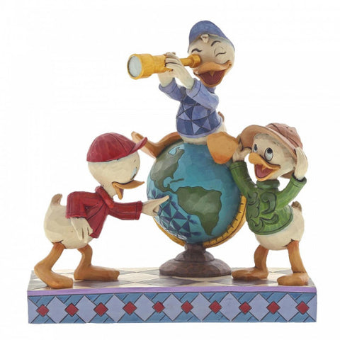 Navigating Nephews (Huey, Dewie & Louie) Disney Figurine