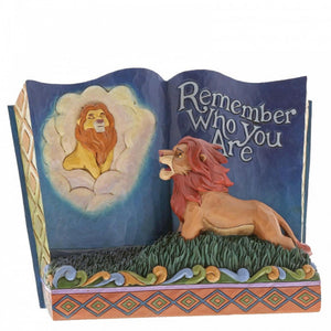 Remember Who You Are (Storybook The Lion King) Disney Figurine