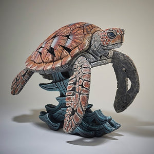 Sea Turtle Edge Sculpture
