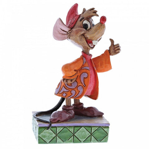 Thumbs Up (Jaq and Gus) Disney Collectable Figurine