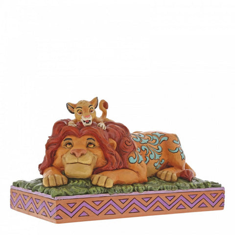 A Father's Pride (Simba & Mufasa Figurine) Disney Collectable