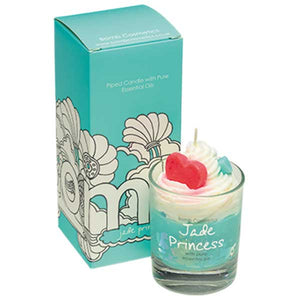 Jade Princess Piped Candle