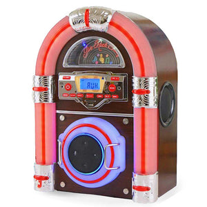 Jive Rock Sixty LXA Jukebox Steepletone Dark Wood
