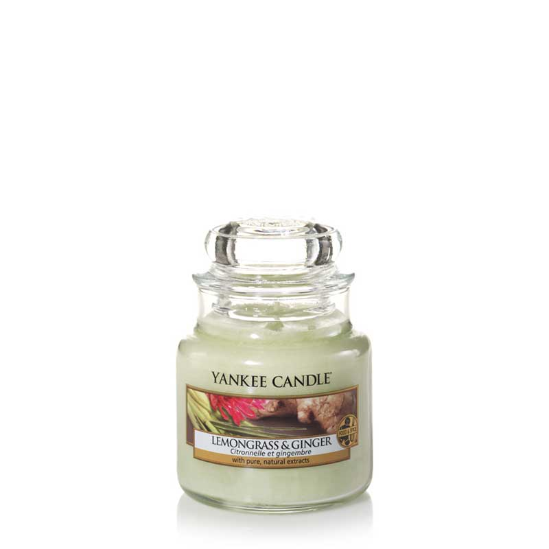 Lemongrass & Ginger Yankee Candle Small Jar