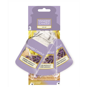 Lemon Lavender 3 Pack, Yankee Candle