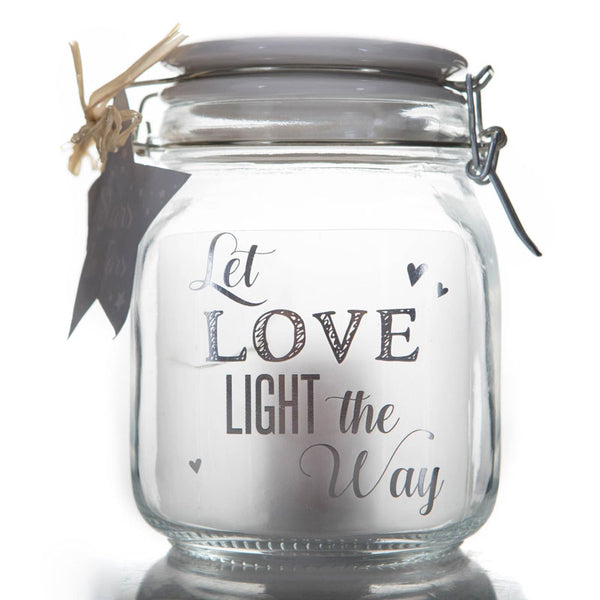 Let Love Light The Way Stars in Jars Gift