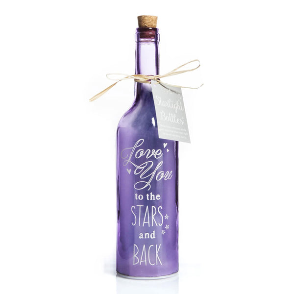 Love You Romantic Gift Starlight Bottles LED