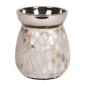 Mother of Pearl Electric Wax Melt Burner