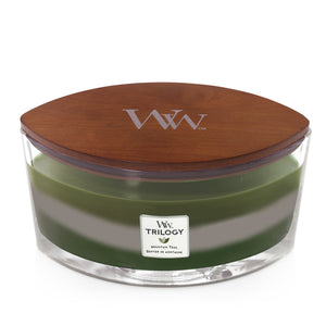 Mountain Trail Trilogy Ellipse Jar, WoodWick