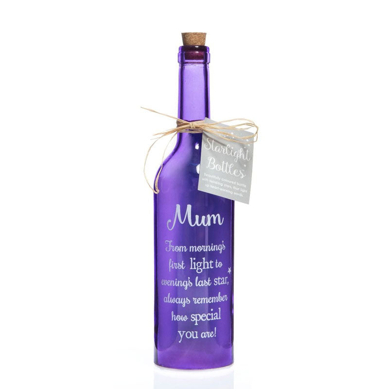 Special Mum Starlight Bottle Gift