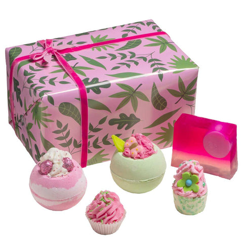 Palm Springs Bath Gift Box Bomb Cosmetics
