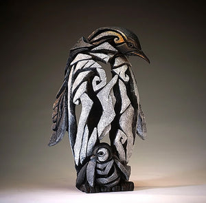 Penguin Figure Edge Sculpture