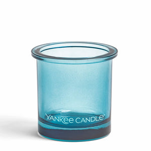 POP Blue Yankee Candle Votive tealight holder