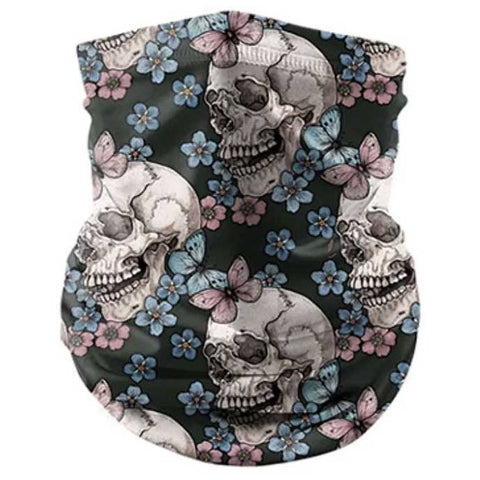 Pretty Skull Reusable Bandana Mask