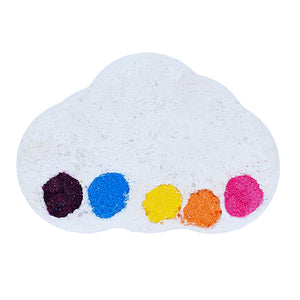 Raining Rainbows Watercolours Bath Blaster Bomb Cosmetics