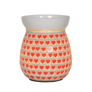Red Heart Electric Wax Melt Burner
