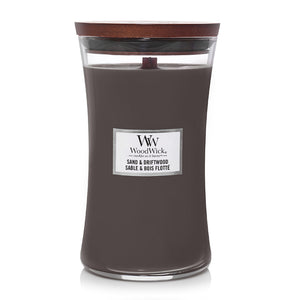 Sand & Driftwood, Woodwick Large Jar