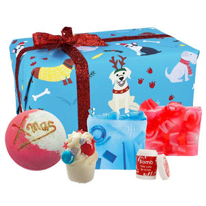 Santa Paws Boys Bath Gift Box