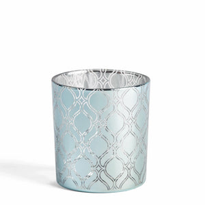 Savoy - Blue Pattern Votive Holder Yankee
