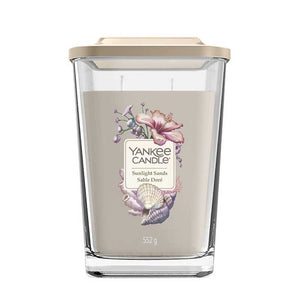 Sunlight Sands LArge Yankee Square Candle JAr