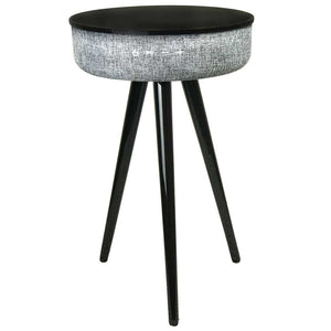 Tabblue - Black Bluetooth Speaker Table Steepletone