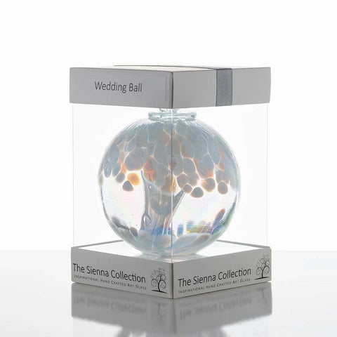 Wedding White Spirit Ball Sienna Glass