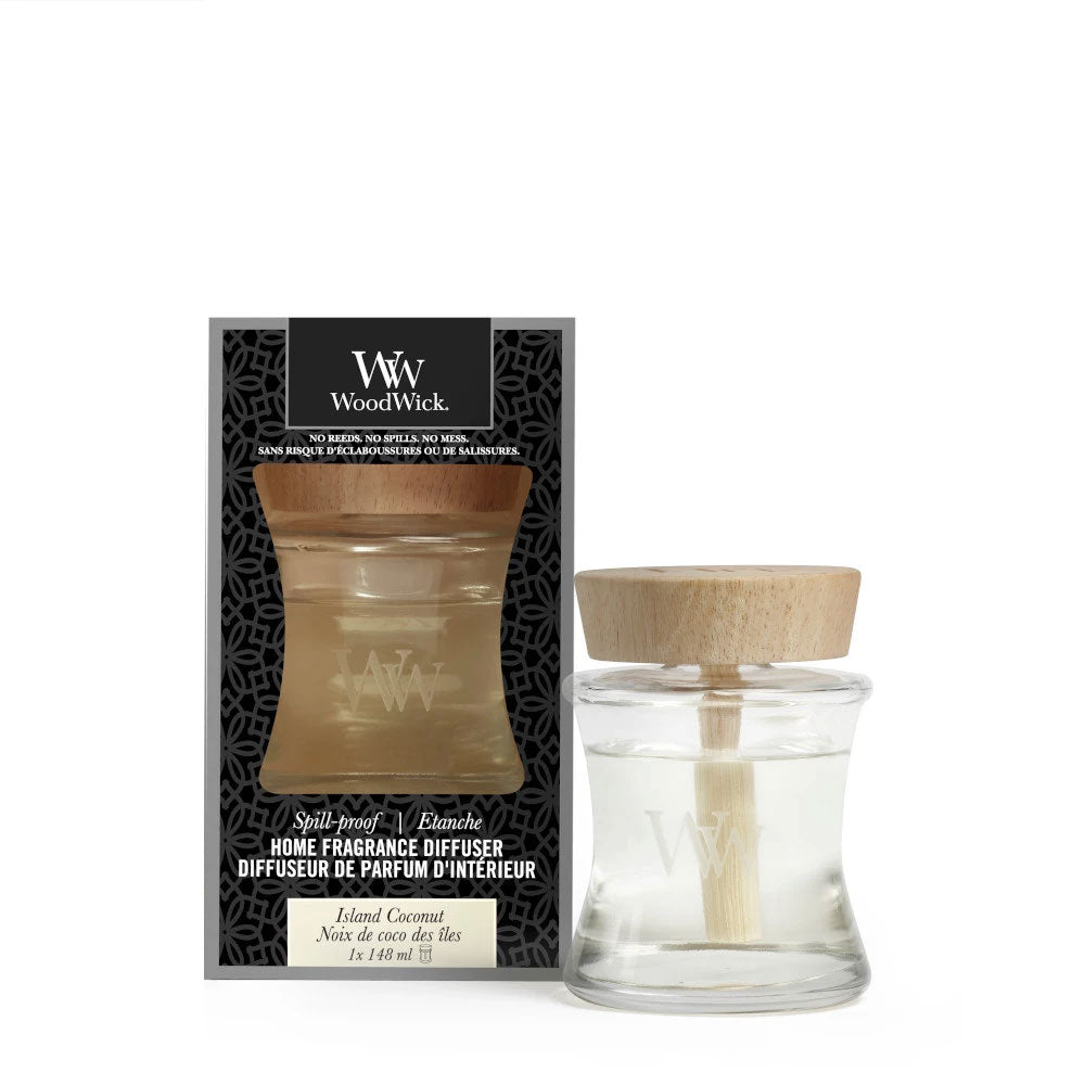 Island Coconut Spill Proof Woodwick