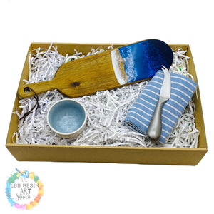 Lil Blue Bird Gift Box - ocean