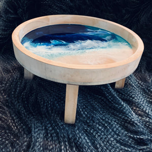Serving Stand - ocean themed