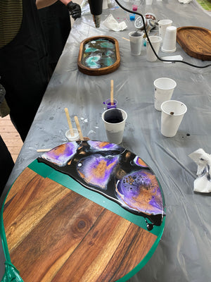 West Wyalong Resin Cheeseboard/Tray Workshop