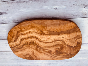 Olive Wood Rustic handcrafted chopping board