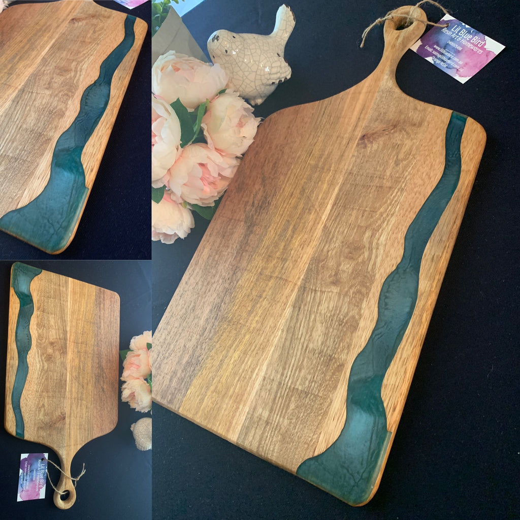 Resin River, Oversize Paddle Board