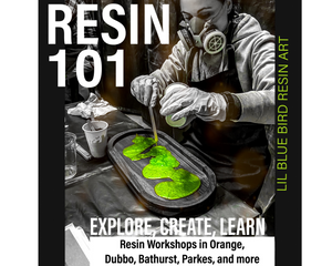01st Nov Orange - in depth resin work shop