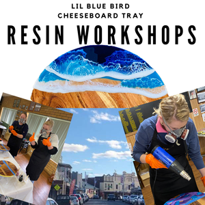 15th January Orange - Cheeseboard Resin Workshop