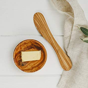 Olive Wood butter knife/soft cheese knife