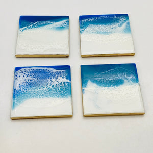 Coaster Set A - Ocean themed
