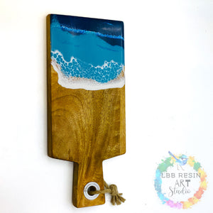 Large rectangle paddle board - ocean