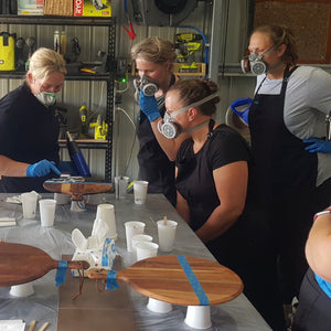 Parkes Cheeseboard Resin Tray Workshop - 12th September 2020