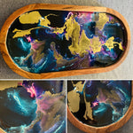 Oval Serving Tray - Galaxy