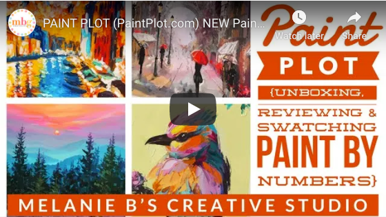 MEL B PAINT BY NUMBERS REVIEWS PAINT PLOT