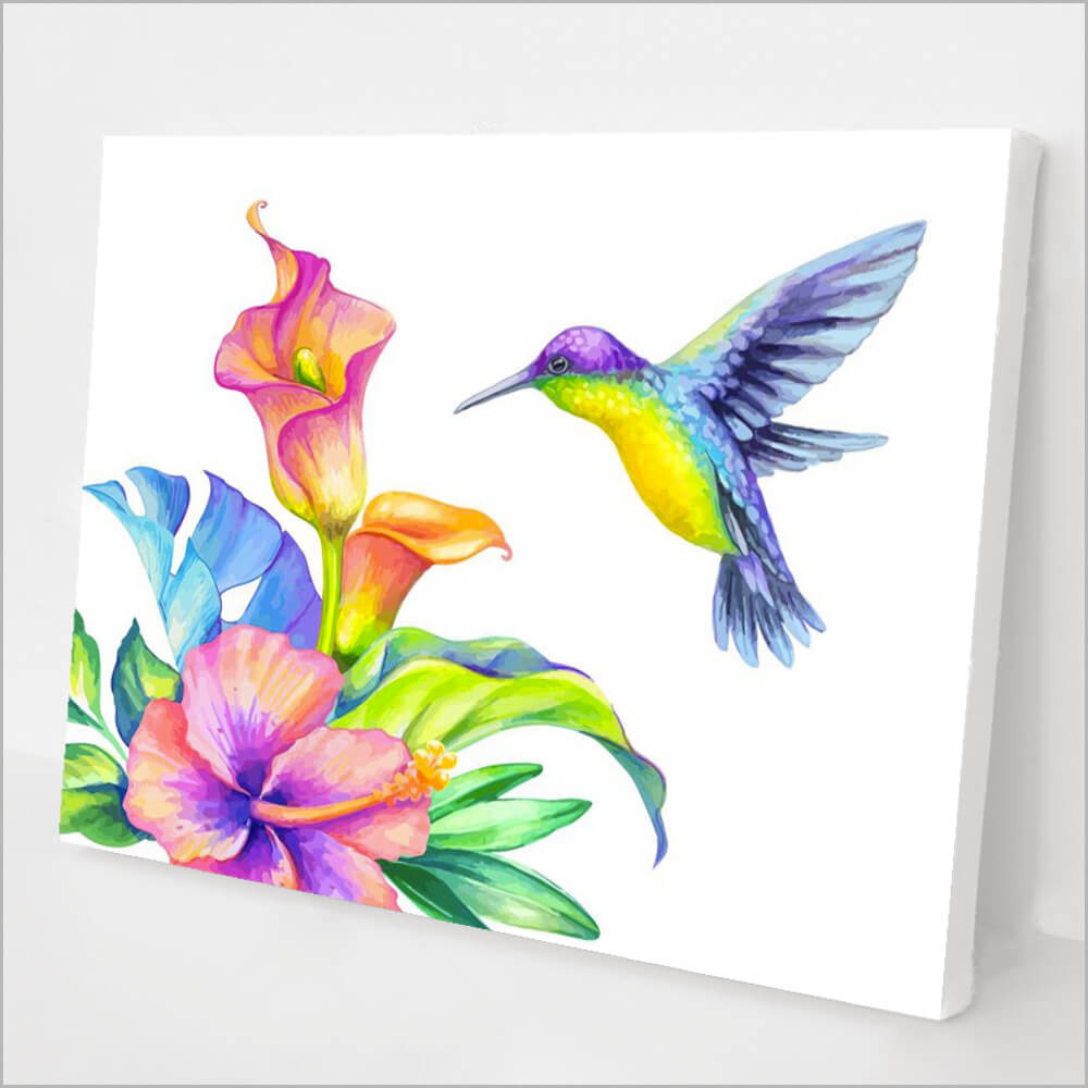 Hummingbird and Flower kit